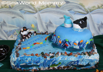 SeaWorld Birthday Party And Cake