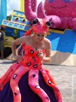 Octopus at SeaWorld Spooktacular