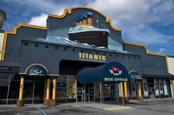 Titanic... The Exhibition International Drive