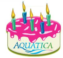 Aquatica 5th cake