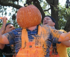What would SeaWorld Spooktacular be without some Pumpkin Guts!?
