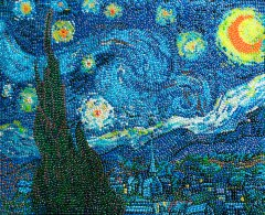 Starry Night, a Jelly Belly® creation by Kristen Cumings
