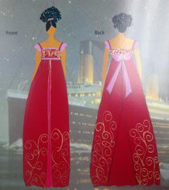 International Academy of Design & Technology student Aixa Ayala designed this Edwardian gown