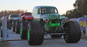 parade of monster trucks