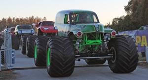 parade of monster trucks