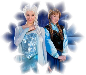Disney On Ice presents Frozen snowflake