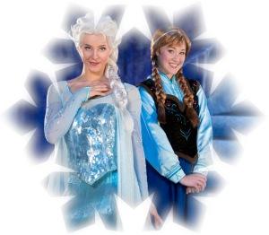 Disney On Ice presents Frozen snowflake