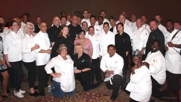 Gourmet Soiree 2014 Chefs