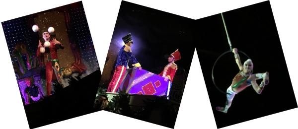 trio of ICE performers Cirque Dreams sm