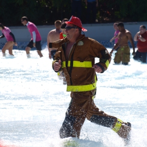 Polar Plunge Freezin' For A Reason at Aquatica by SeaWorld Orlando for Special Olympics Florida
