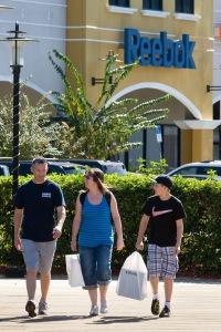Reebok shoppers