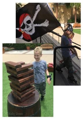 Pirate Parade and Yaaard Games!
